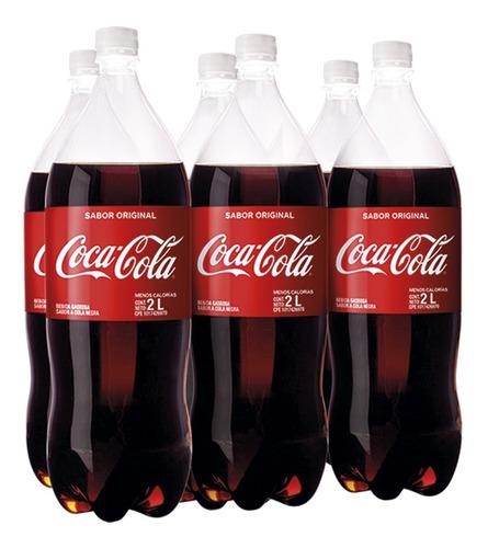 Refresco Coca - Cola Sabor Original Pet 2l 6 Unidades.
