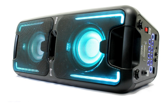 Caixa Som Pcx5500 Effects Bluetooth 200w Rms Potente Philco