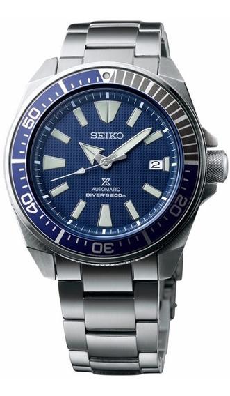 Seiko Samurai Prospex Diver Automático Azul Srpb49k1 Srpb49