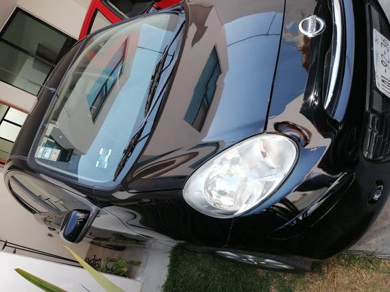 Nissan March Advance Transmisión Automática 2012 Negro 5 Pue