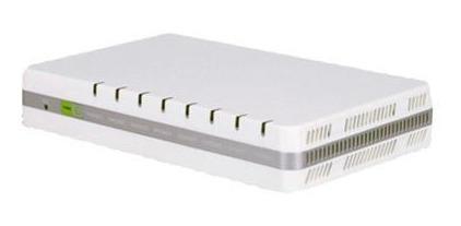 Ata Khomp C/ 2 Interfaces De Rede Gigabit E 8 Portas Fxs