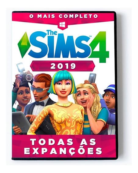 The Sims 4 2019 Completo + Todas As Expansões Envio 0 S
