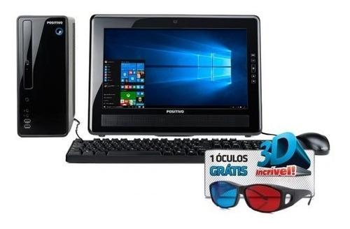 Imagem 1 de 2 de Computador Dual Core J1800 8gb 500gb Monitor 18.5 Windows 10