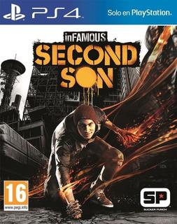 Infamous Second Son Ps4 - Envio Gratis Usado -