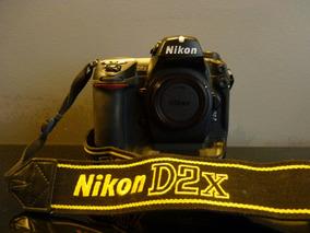 Nikon D2x - Corpo Com Apenas 8 Mil Cliques