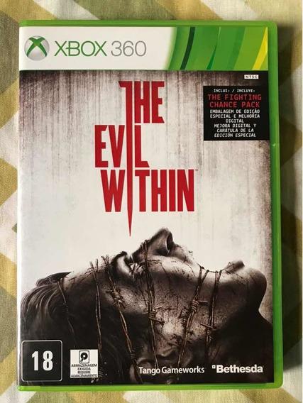 The Evil Within Xbox 360 Mídia Física Original