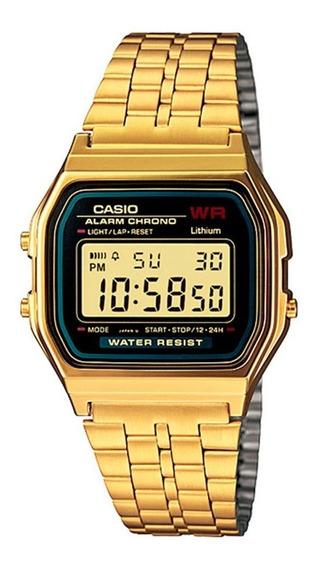 Relógio Vintage Collection Dourado Digital Casio