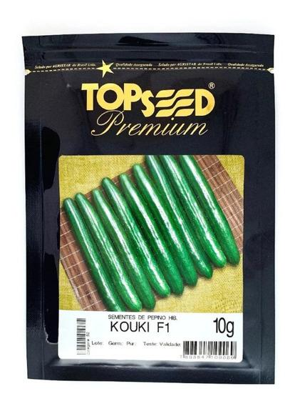 Sementes De Pepino Japonês Híb. Kouki 10 Gramas