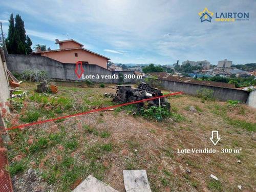 Imagem 1 de 2 de Terreno À Venda, 300 M² Por R$ 350.000 - Jardim Tapajós - Atibaia/sp - Te0783