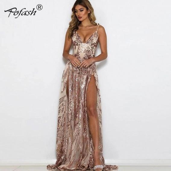 Vestido De Fiesta (rebeca)