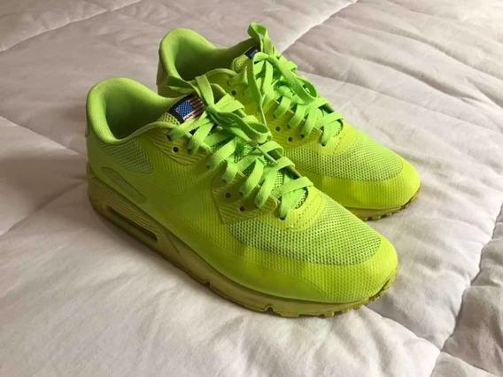 Tênis Nike Air Max 90 Hyperfuse Cor Volt Tam. 41 Br / 9,5us