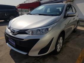 Toyota Yaris Sedan Core 2019 Aut Plata Demo 3 Años Garantia