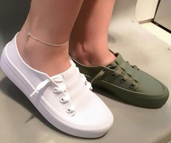 Tênis Melissa Cor Branco Ulitsa Sneaker