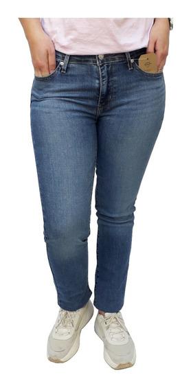 Pantalón Jean Levis 712 Slim Straight Dama Mujer