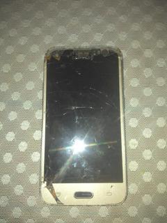 Celular Sansung J1 Sm-j120h/ds Defeito Leia O Anuncio