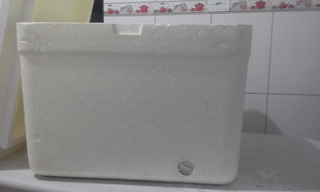 Caixa Térmica Isopor Capacidade 120 Litros Isoterm C/dreno