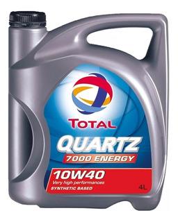 Aceite Total Quartz 7000 10w40 4 Litros Semi Sintético
