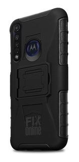 Funda Case Moto Rudo Con Clip Protector Motorola Extra
