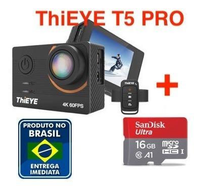 Thieye T5 Pro + Cartao 16gb 4k 60fps Melhor Custo Benefício!