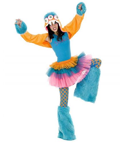 Disfraz Monster Niñas De 8 A 11 Años Halloween Nuevo