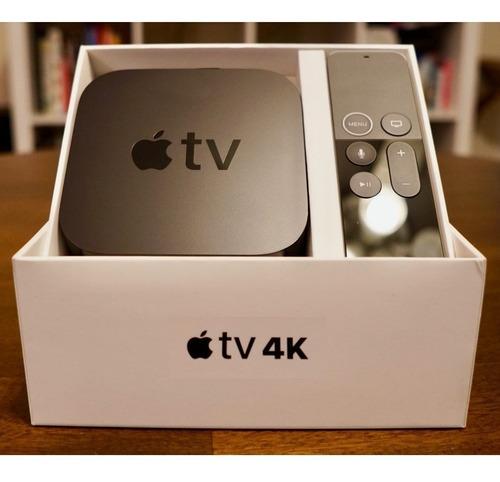 Apple Tv 4k Mqd22lz/a 32gb Novo Lacrado Original