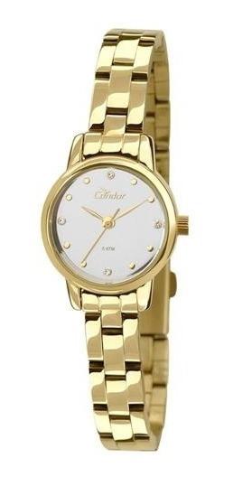 Relógio Condor Feminino Co2035kLG/4k De Vltrine Lindo Barato