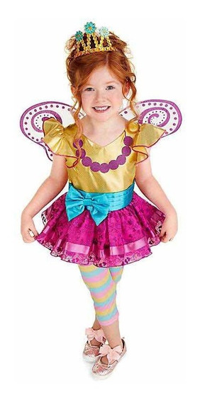 Disfraz De Fancy Nancy Niña Original De Disney Store