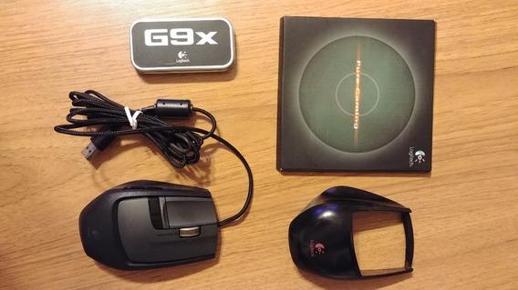 Mouse Logitech G9x Laser Gamer Completo. Raro.