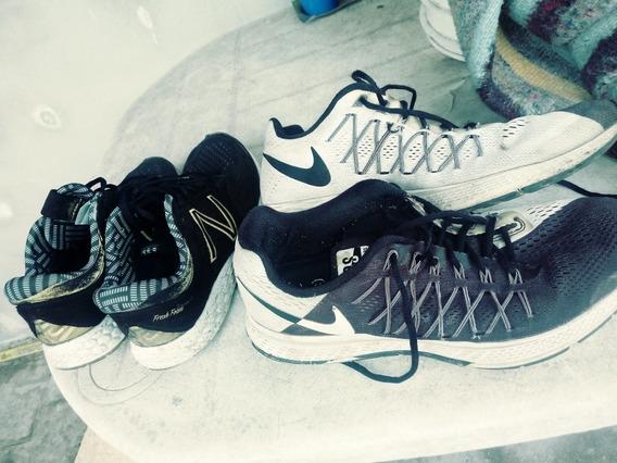 Zapatillas Nike Pegasus Dos Angeles Y Zapatillas New Balance