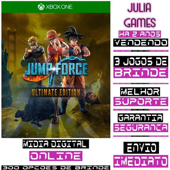 Jump Force Ultimate Edition Xbox One Digital Online + Brinde