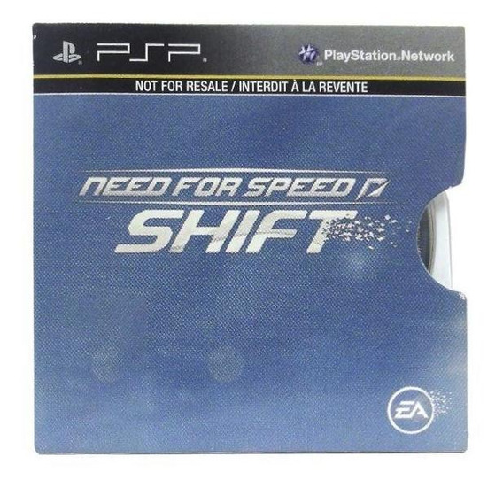 Need For Speed Shift Psp Capa Dura Mídia Física