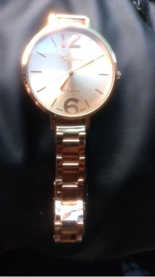 Relógio Feminino Geneva Platinum Casual Social Promoção
