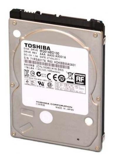 Disco Duro Toshiba 1tb Sata De 2.5 Lapto Pc Dvr Ps4 100% New
