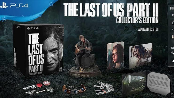The Last Of Us 2 - Collectors Edition Leia O Anúncio!!!!!