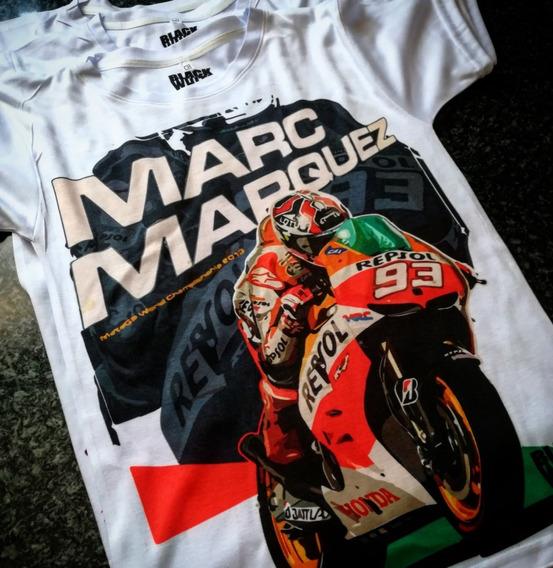 Motos Playeras Black White Marc Marquez