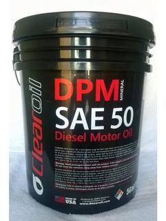 Aceite Clear Oil Diesel 50 Paila De 19lts