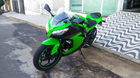 Kawasaki Ninja 2013 Em Raro Estado Baixa Km Pneus Otimos