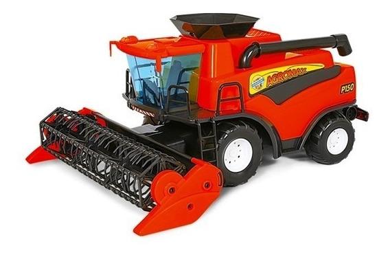 Brinquedo Infantil Colheitadeira Fazendeiro - Poliplac Verme