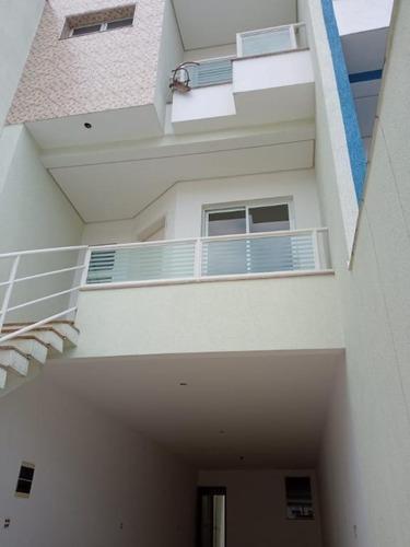 Sobrado Com 3 Dormitórios À Venda, 194 M² - Campestre - Santo André/sp - So20431