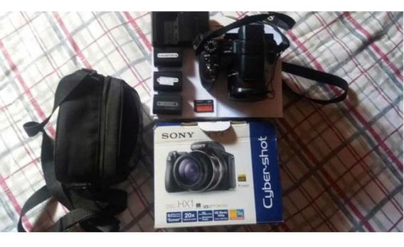 Câmera Sony Dsc-hx1 Caixa Acessorios E Brindes