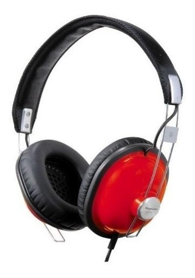 Audífonos Panasonic Diseño Retrometal + Pink Red + Xbs + New