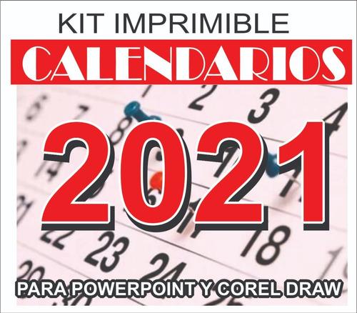 Kit Imprimible Calendarios 2019, Souvenir Almanaques P Armar