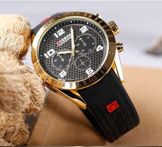Relógio Curren Masculino Original Resistente Frete Grátis