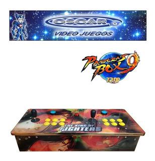 Tablero Arcade C/ Pandora 9h Uso Casero King Of Fighters
