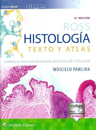 Imagen 1 de 5 de Ross Histologia Texto Y Atlas
