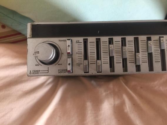Tojo Gr 300 Amplificador Equalizador Com Câmera De Eco
