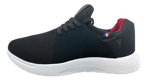 Imagen 1 de 6 de Zapatillas Hombre Michelin Country Rock Negro-rojo
