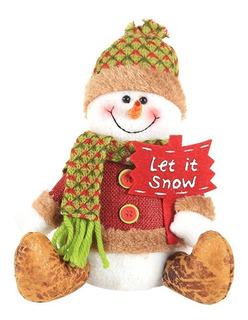 Muñeco De Muñeco De Nieve De Decoración Navideña