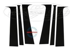 Adesivo Coluna Blackout Celta E Prisma G1 4 Porta Acessórios