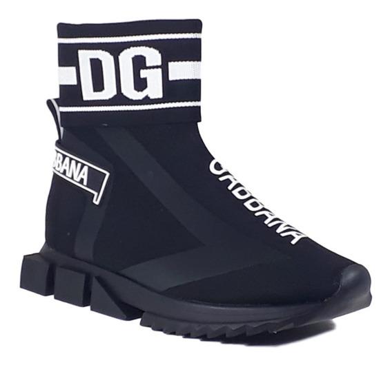 Tênis Sorrento High Dolce & Gabbana Comprado E Nunca Usado